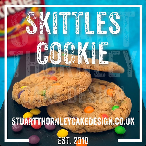 Skittles Cookie