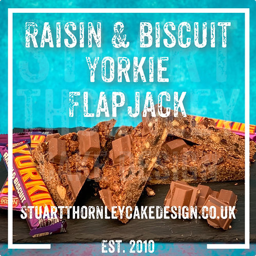 Raisin & Biscuit Yorkie Flapjack