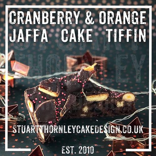 Cranberry & Orange Jaffa Cake Tiffin