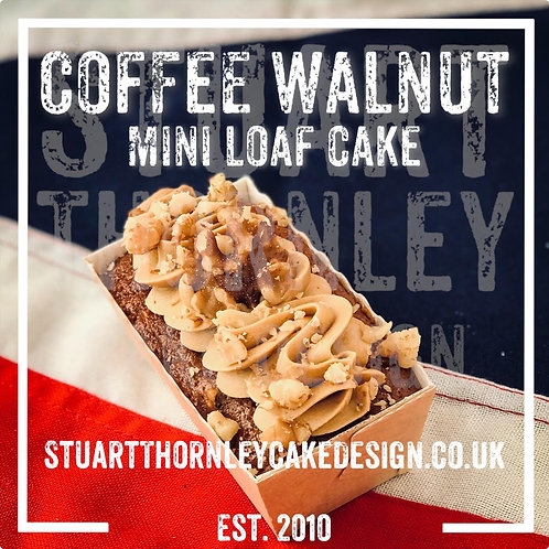 Coffee Walnut Mini Loaf Cake