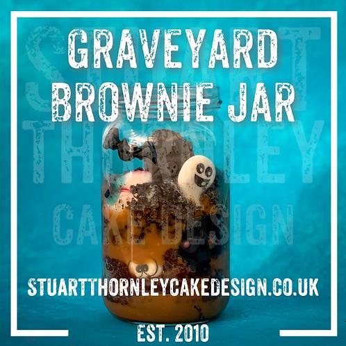 Graveyard Brownie Jar