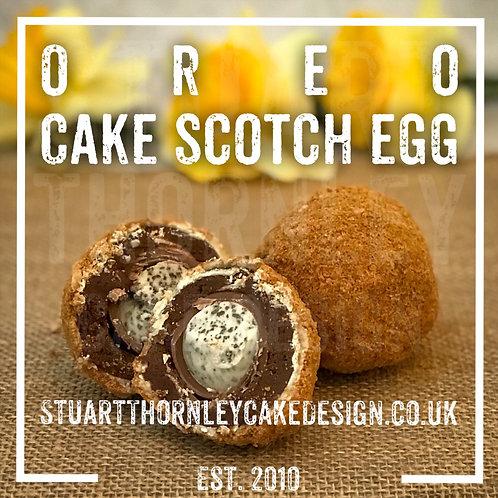 Oreo Cake Scotch Egg