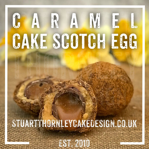 Caramel Cake Scotch Egg