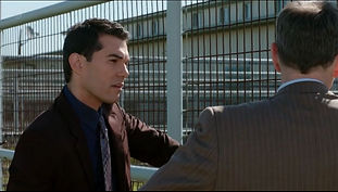 Actor Oryan Landa in the movie A Horse Tale with Patrick Muldoon