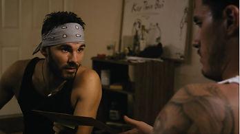 Oryan Landa in the film 3 Days