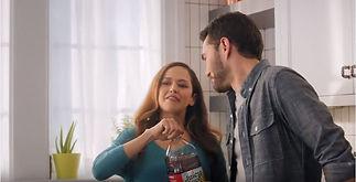 Actor Oryan Landa in a commercial for Juicy Juice