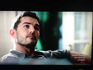 Actor Oryan Landa in Killision Course