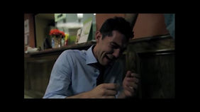 Actor Oryan Landa in the short film Collisions