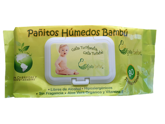 PAÑITOS HUMEDOS BIODEGRADABLES