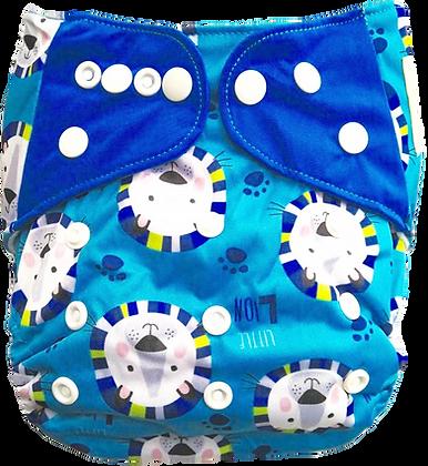 Pañal Ecologico Leones Azul