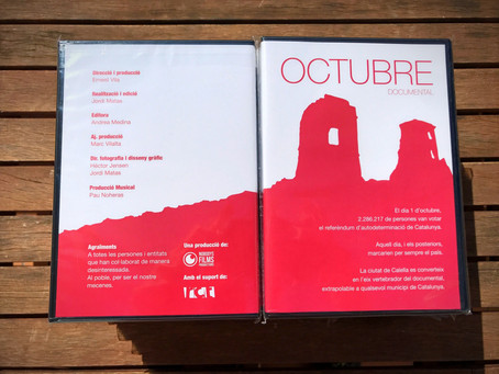 Ja a la venda el Documental Octubre