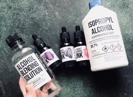 Разбавитель Blending Solution или Изопропиловый спирт?