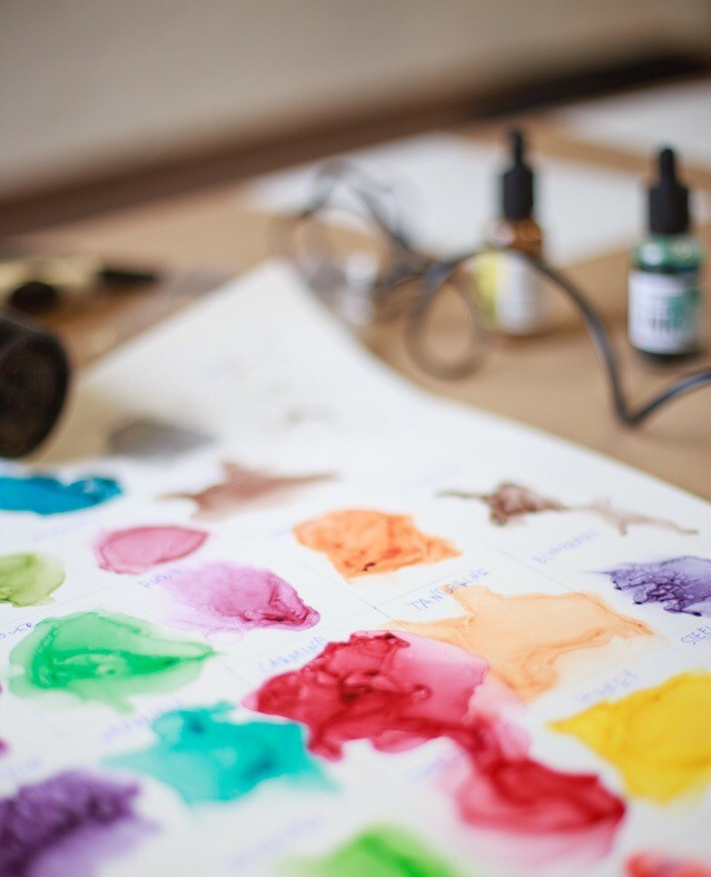 Сколько цветов входит в палитру CRAFT  INK?