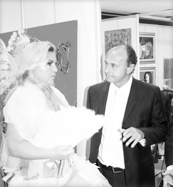 Isa Sator et Maître Eric Bohbot