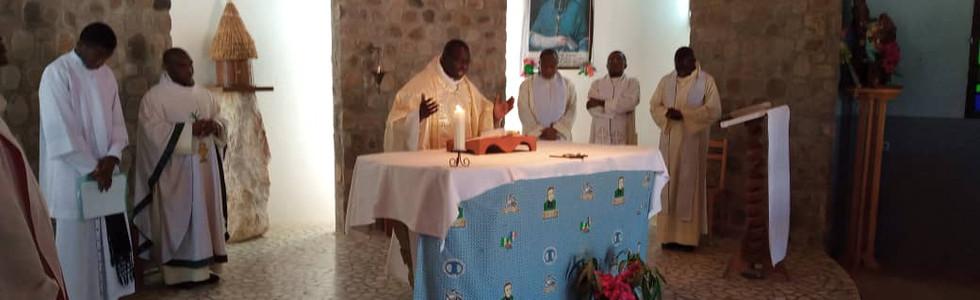 Messe d'entrée au Prénovicat