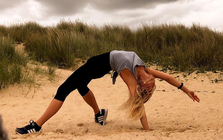 Yoga Beach Suffolk