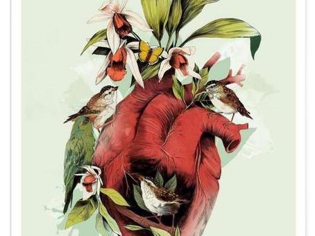 Heart Feather; heavy