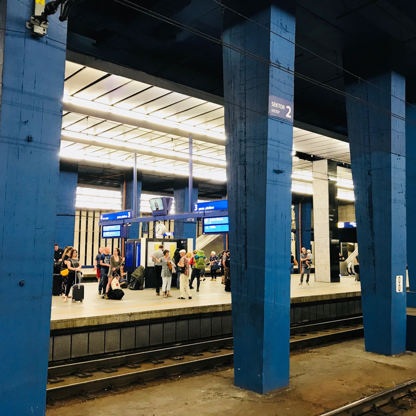 Central Station, Warsaw, Poland
