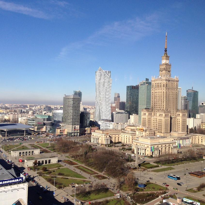 Central Warsaw, Poland