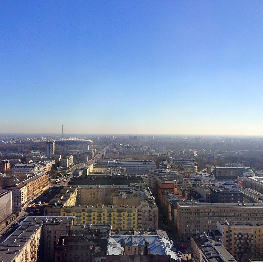 Central London Warsaw, skyline
