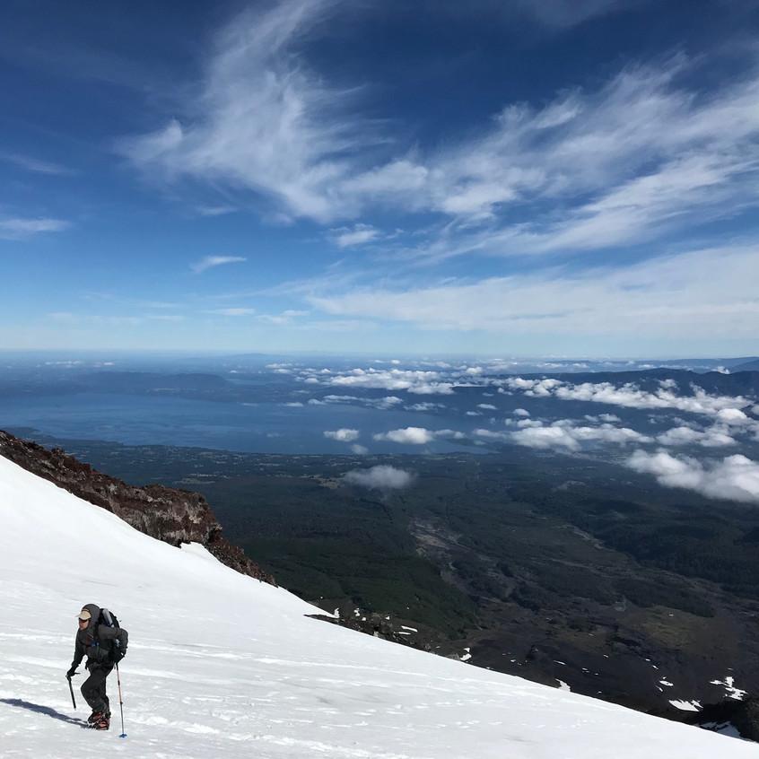 Villarrica Volcano climb, Pucon, Chi