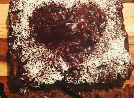 Crazy chocolate and fruit cake- GF as always :)