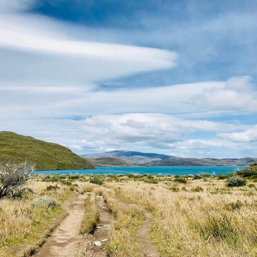 Lago Pehoe, Patagonia, Chile