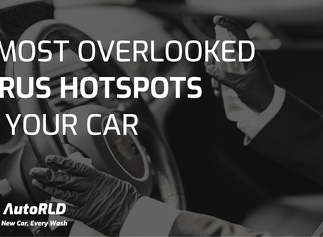 7 Most Overlooked Virus Hotspots In Your Car