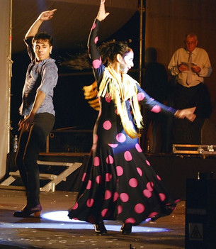 Potrero Flamenco se muestra en Potrero antes del gran espectáculo