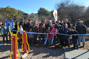 Inauguración de la Plaza Saludable