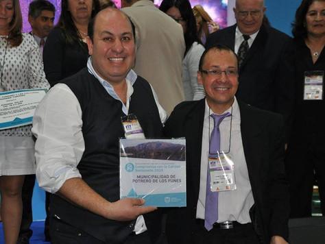 Potrero recibió el premio Nacional de Calidad Turística, Programa de Excelencia del Ministerio de Tu
