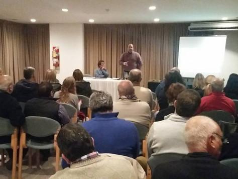 Productiva reunión del sector alojamiento Ente Mixto 2016