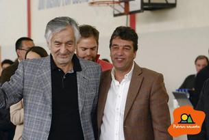 El Gobernador Alberto Rodríguez Saá visitó este jueves Potrero de los Funes