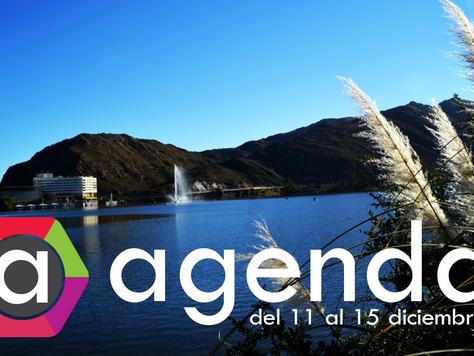 Agenda del 11 al 15 de Diciembre