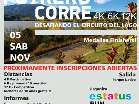 Se viene la primera edición del Potrero Corre 4k, 6k y 12k