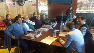 Reunión de intendentes en Juana Koslay