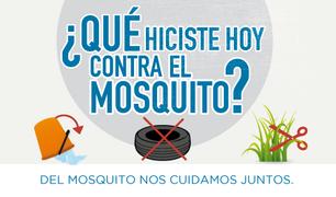 Importante: Fumigación contra el dengue en todo Potrero