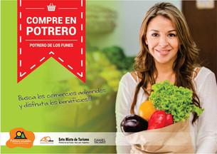 COMPRE EN POTRERO: comercios adheridos y más ofertas!