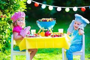 bigstock-Garden-Grill-Party-For-Kids-938