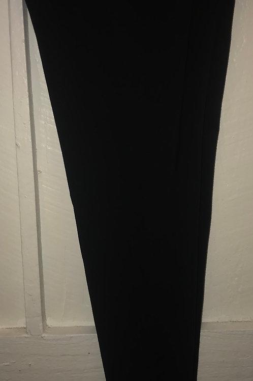 Cotton Capri Leggings in Black