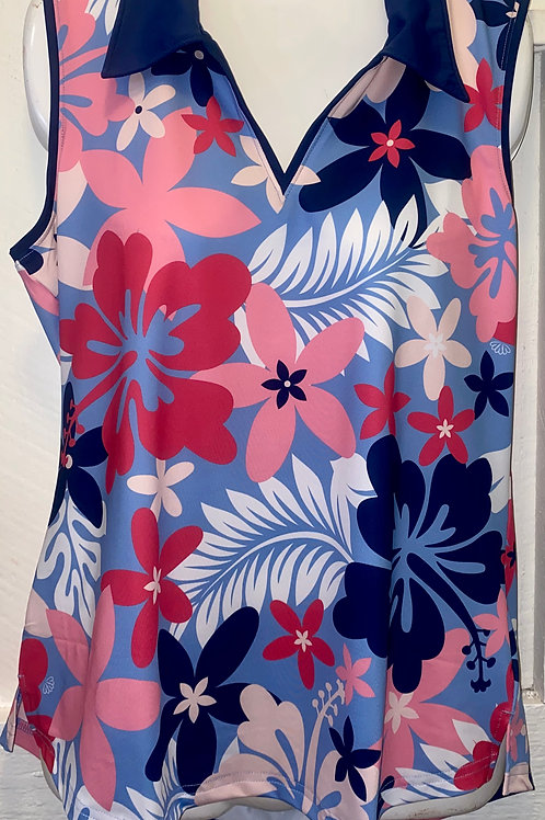 Active Wear Tank Top in Beguiled