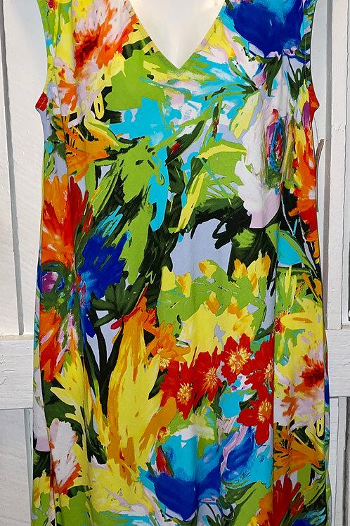 Floral Breeze Tank Dress