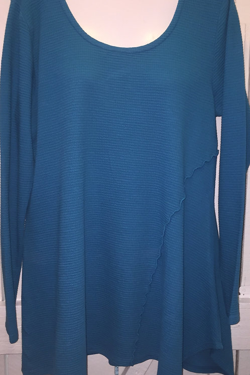 Cerena Thermal Tunic in Jewel
