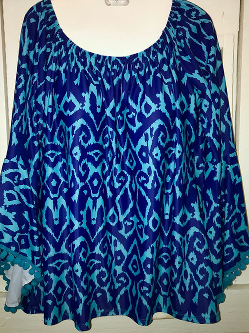 Michelle Blouse in Blue