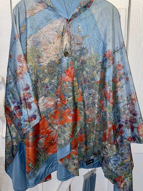 Rain Caper in Celias Garden/Shoals in Blue