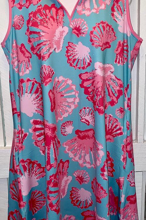 Active Wear Dress in Sea Shells