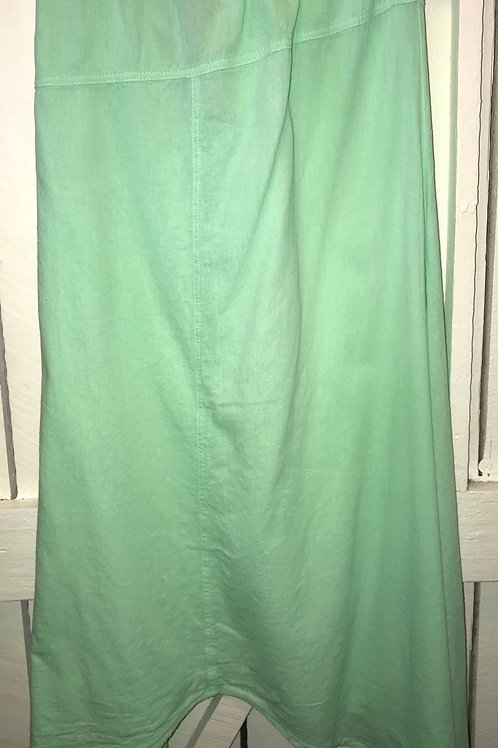 Gauze Long Skirt in Mint Green