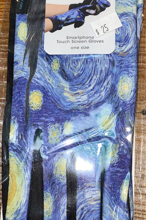 Van Gogh Starry Night Gloves