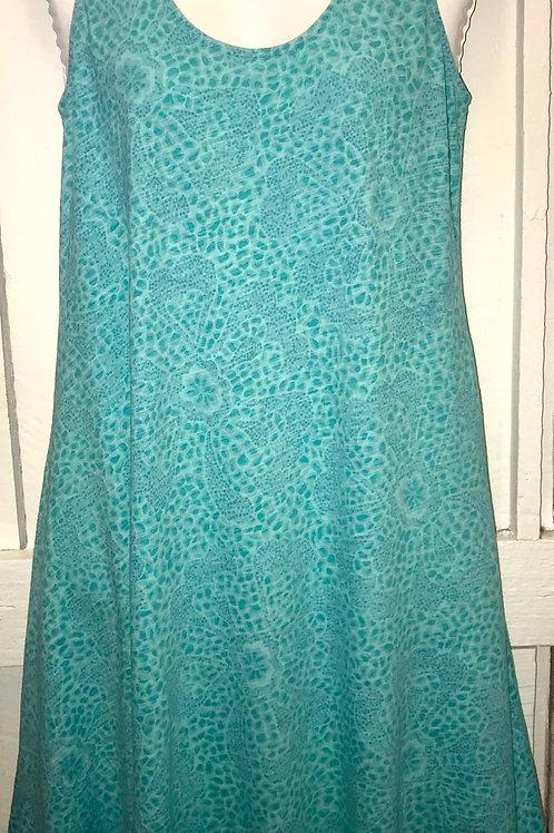 Spring Fling Hi-Lo Dress in Sea Foam
