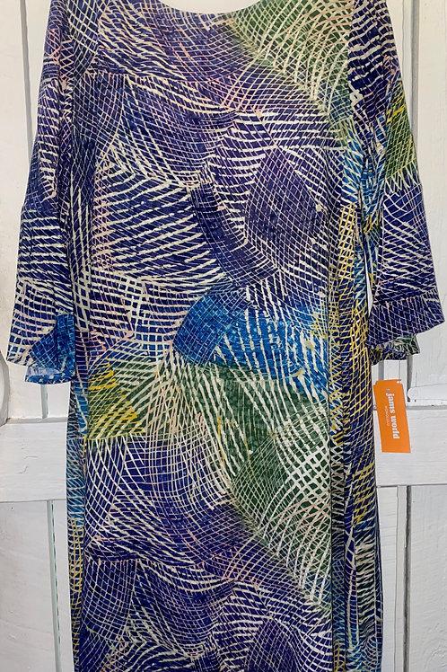 Hibiki 3/4 Sleeve Dress